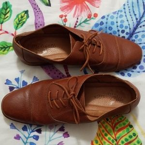Madewell Classic Leather Oxfords